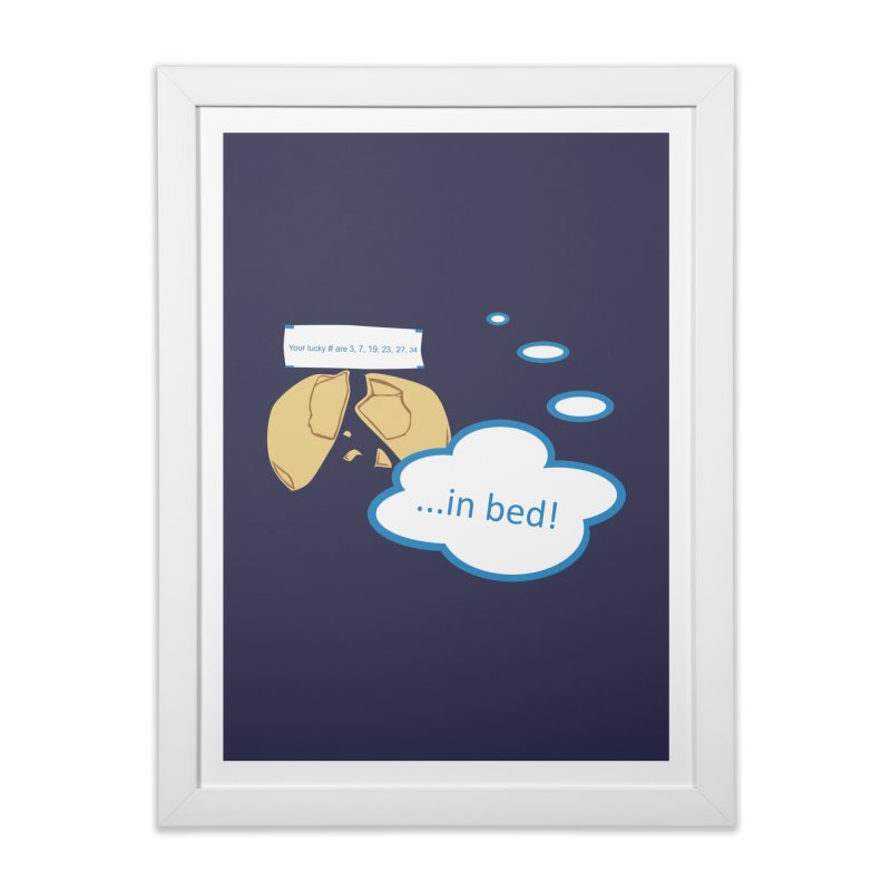 Fortune Cookie Lucky #s Home Framed Fine Art Print by Alpha Ryan's Artist Shop