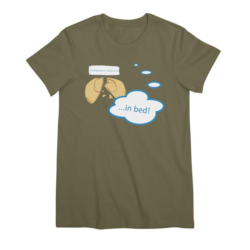 Fortune Cookie Lucky #s Women's Premium T-Shirt by Alpha Ryan's Artist Shop