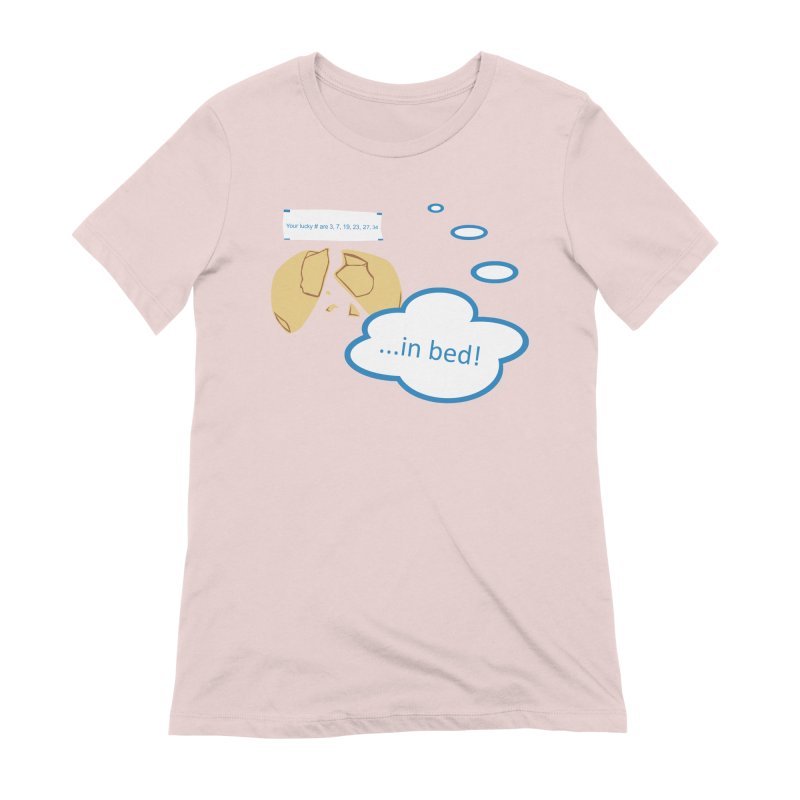 Fortune Cookie Lucky #s Women's Extra Soft T-Shirt by Alpha Ryan's Artist Shop