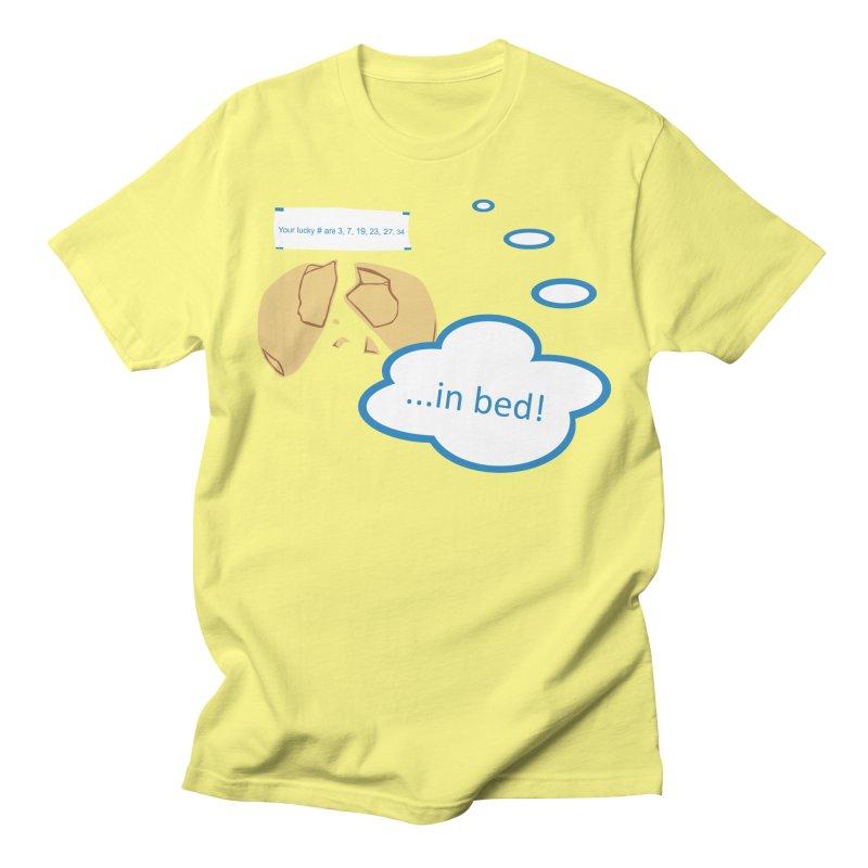 Fortune Cookie Lucky #s Men's T-Shirt by Alpha Ryan's Artist Shop