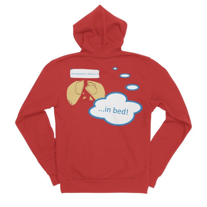 Fortune Cookie Lucky #s Men's Zip-Up Hoody by Alpha Ryan's Artist Shop