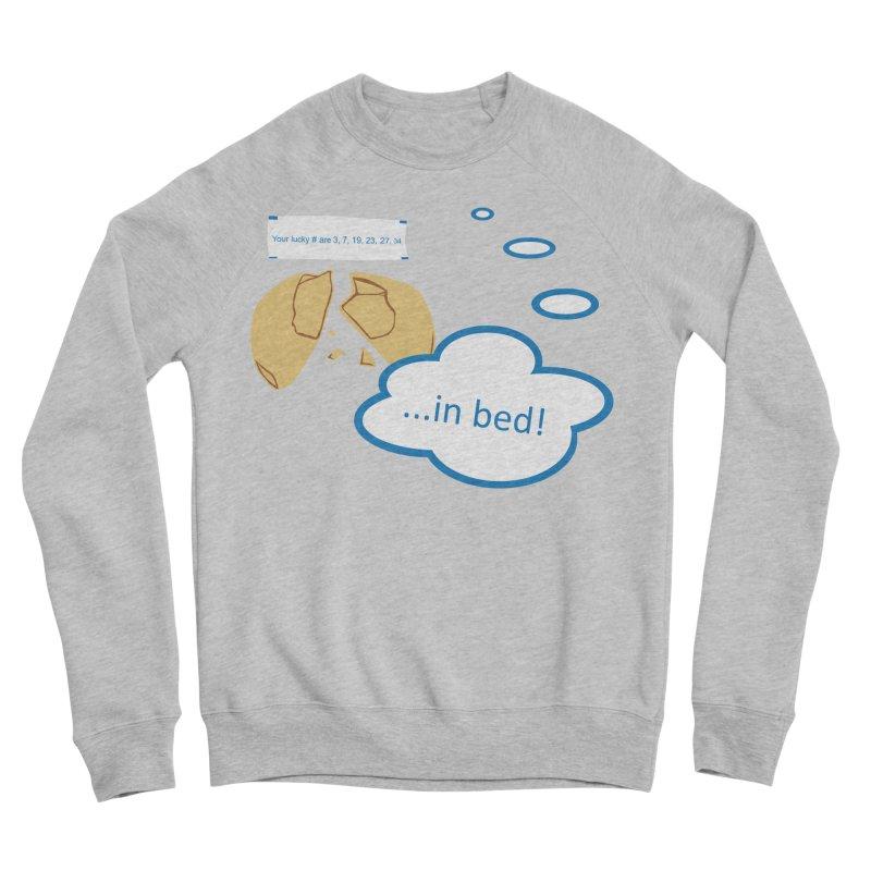 Fortune Cookie Lucky #s Men's Sponge Fleece Sweatshirt by Alpha Ryan's Artist Shop