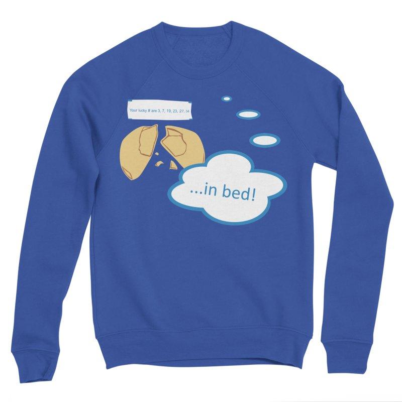 Fortune Cookie Lucky #s Women's Sponge Fleece Sweatshirt by Alpha Ryan's Artist Shop