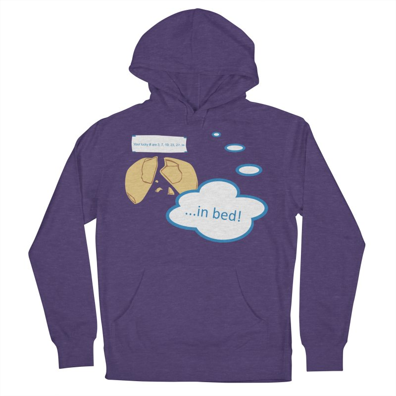 Fortune Cookie Lucky #s Men's French Terry Pullover Hoody by Alpha Ryan's Artist Shop