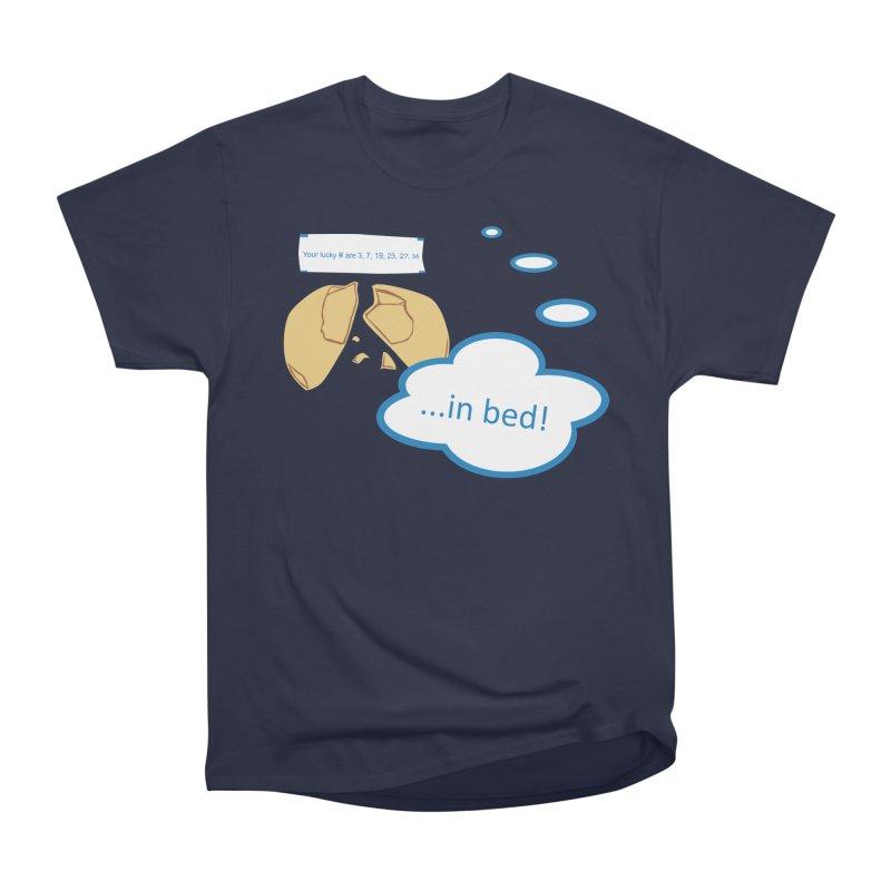 Fortune Cookie Lucky #s Men's Heavyweight T-Shirt by Alpha Ryan's Artist Shop