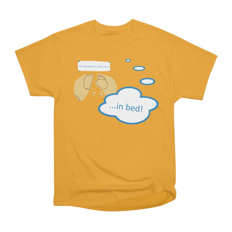 Fortune Cookie Lucky #s Men's Classic T-Shirt by Alpha Ryan's Artist Shop