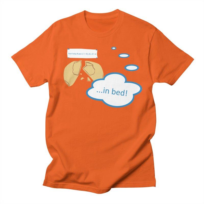 Fortune Cookie Lucky #s Men's Regular T-Shirt by Alpha Ryan's Artist Shop