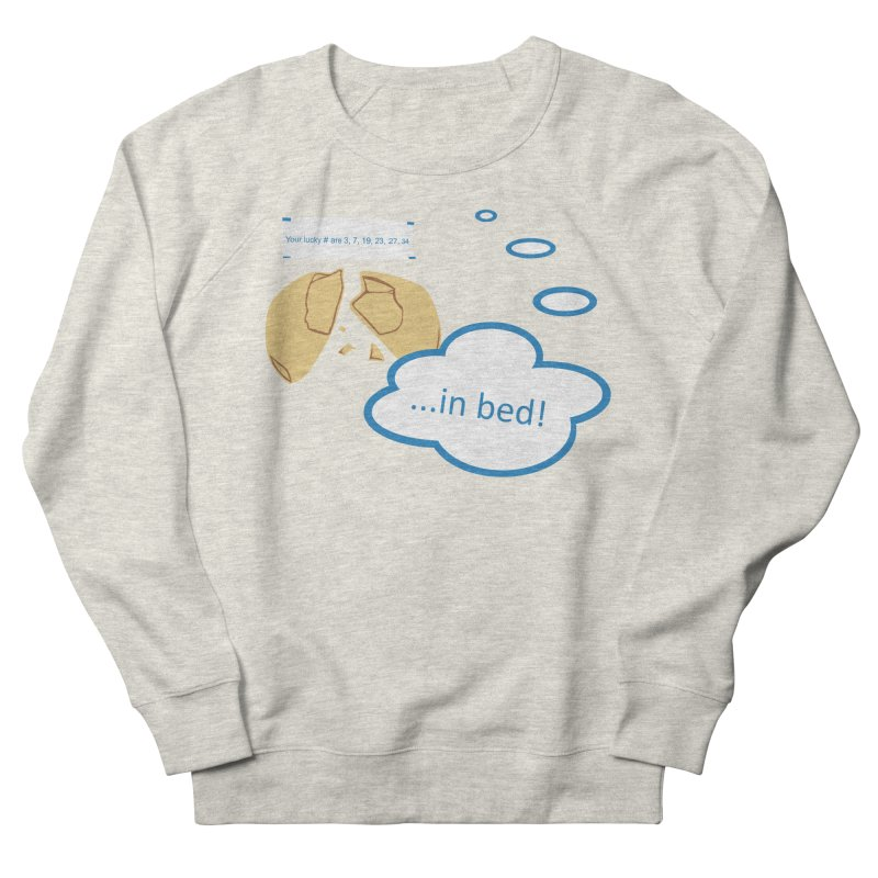 Fortune Cookie Lucky #s Women's French Terry Sweatshirt by Alpha Ryan's Artist Shop