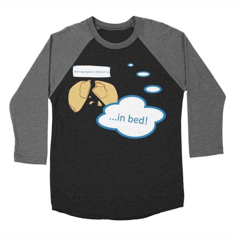 Fortune Cookie Lucky #s Women's Baseball Triblend Longsleeve T-Shirt by Alpha Ryan's Artist Shop