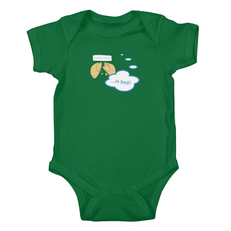 Fortune Cookie Lucky #s Kids Baby Bodysuit by Alpha Ryan's Artist Shop