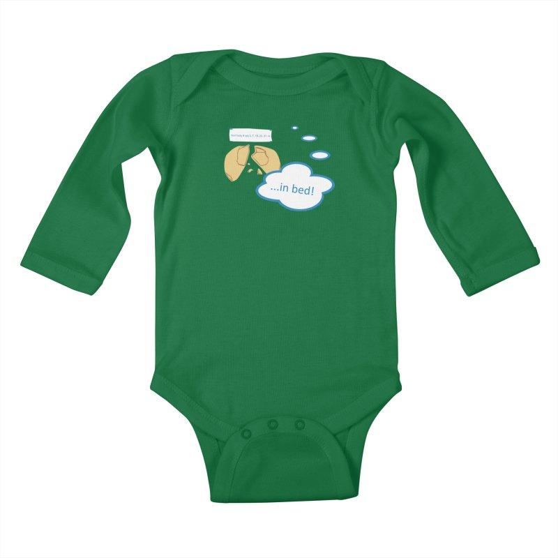 Fortune Cookie Lucky #s Kids Baby Longsleeve Bodysuit by Alpha Ryan's Artist Shop