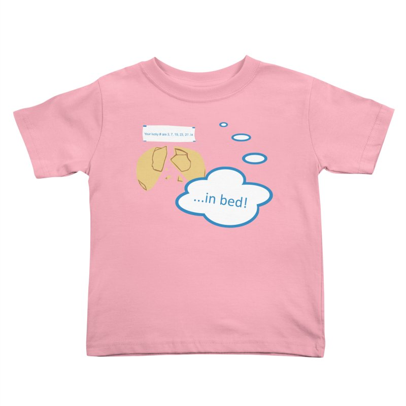 Fortune Cookie Lucky #s Kids Toddler T-Shirt by Alpha Ryan's Artist Shop