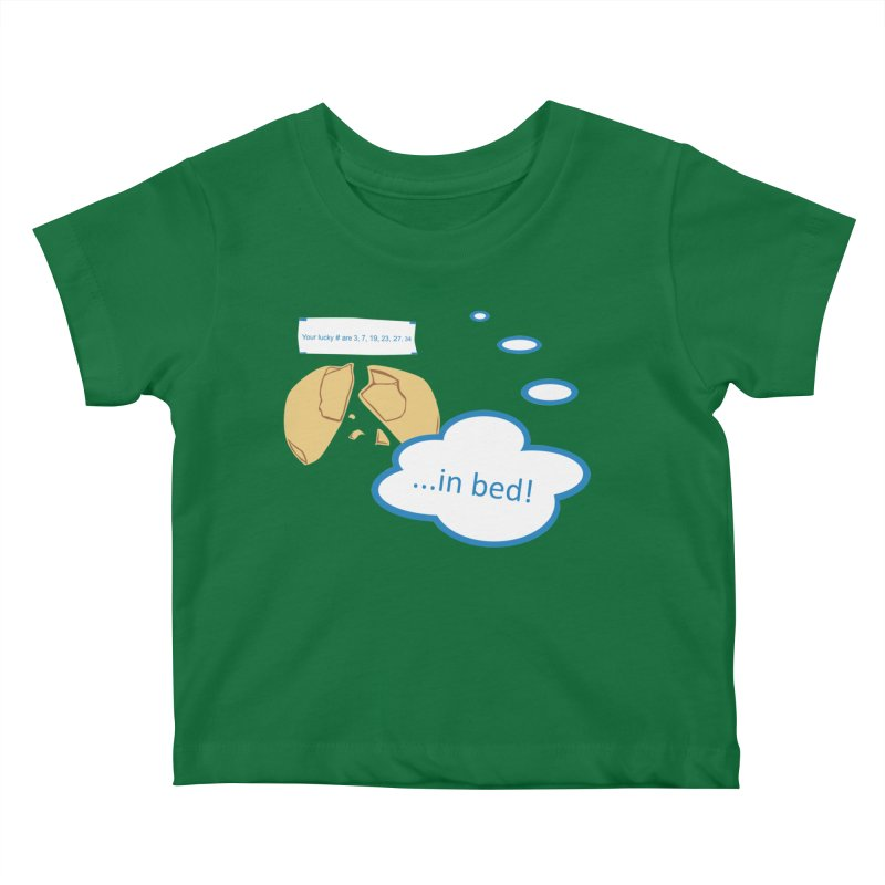 Fortune Cookie Lucky #s Kids Baby T-Shirt by Alpha Ryan's Artist Shop