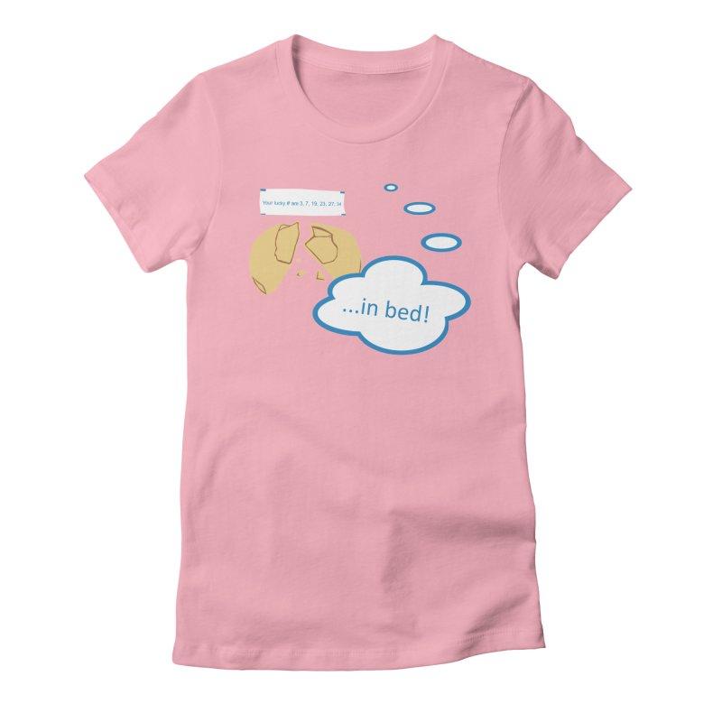 Fortune Cookie Lucky #s Women's T-Shirt by Alpha Ryan's Artist Shop