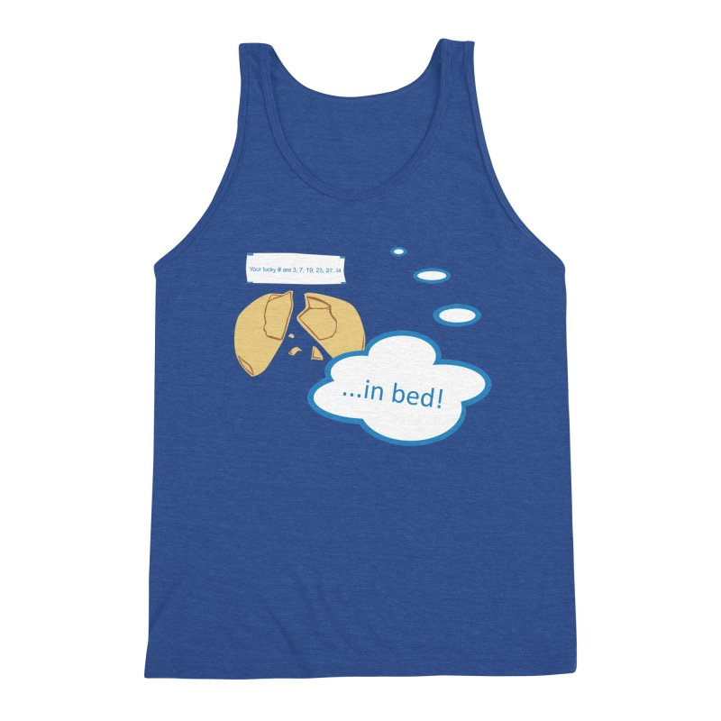 Fortune Cookie Lucky #s Men's Tank by Alpha Ryan's Artist Shop
