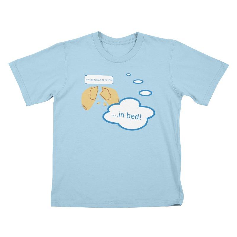 Fortune Cookie Lucky #s Kids T-Shirt by Alpha Ryan's Artist Shop