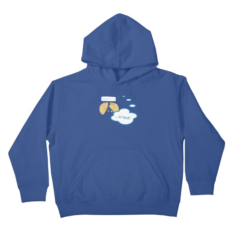 Fortune Cookie Lucky #s Kids Pullover Hoody by Alpha Ryan's Artist Shop
