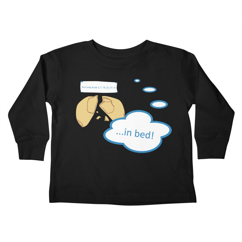 Fortune Cookie Lucky #s Kids Toddler Longsleeve T-Shirt by Alpha Ryan's Artist Shop
