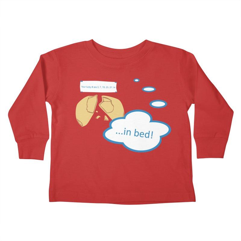 Fortune Cookie Lucky #s Kids Toddler Longsleeve T-Shirt by Alpha Ryan's Artist Shop