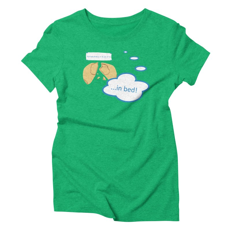 Fortune Cookie Lucky #s Women's T-Shirt by Alpha Ryan's Artist Shop