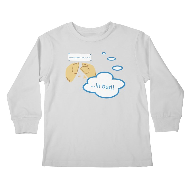 Fortune Cookie Lucky #s Kids Longsleeve T-Shirt by Alpha Ryan's Artist Shop