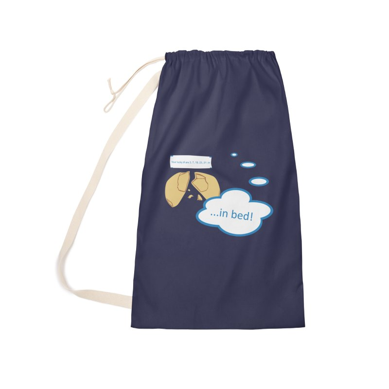 Fortune Cookie Lucky #s Accessories Laundry Bag Bag by Alpha Ryan's Artist Shop