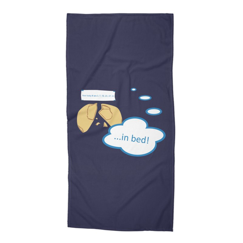 Fortune Cookie Lucky #s Accessories Beach Towel by Alpha Ryan's Artist Shop