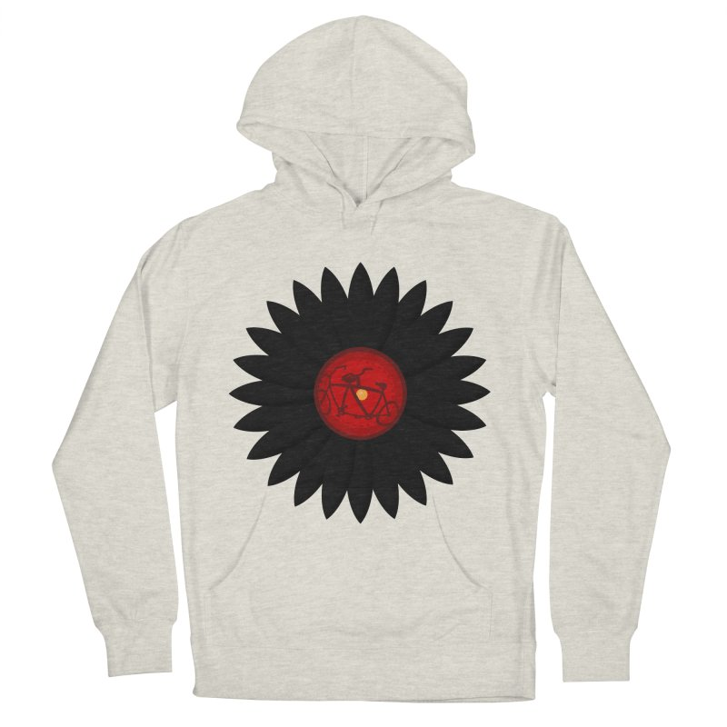 Daisy, Daisy Men's French Terry Pullover Hoody by Alpha Ryan's Artist Shop