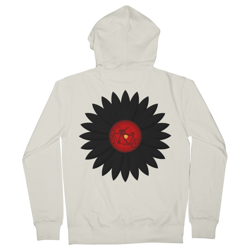 Daisy, Daisy Women's Zip-Up Hoody by Alpha Ryan's Artist Shop