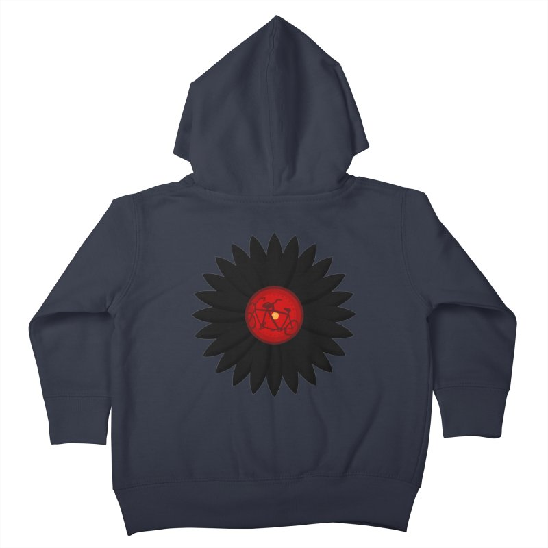 Daisy, Daisy Kids Toddler Zip-Up Hoody by Alpha Ryan's Artist Shop