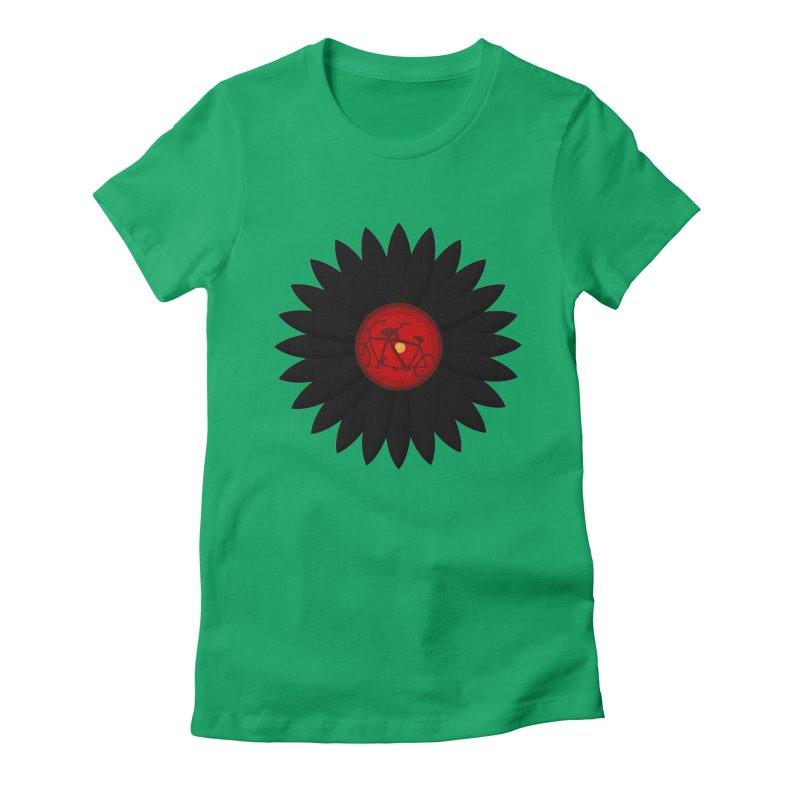 Daisy, Daisy Women's Fitted T-Shirt by Alpha Ryan's Artist Shop