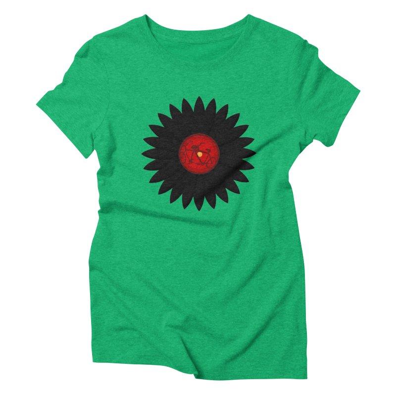 Daisy, Daisy Women's Triblend T-shirt by Alpha Ryan's Artist Shop