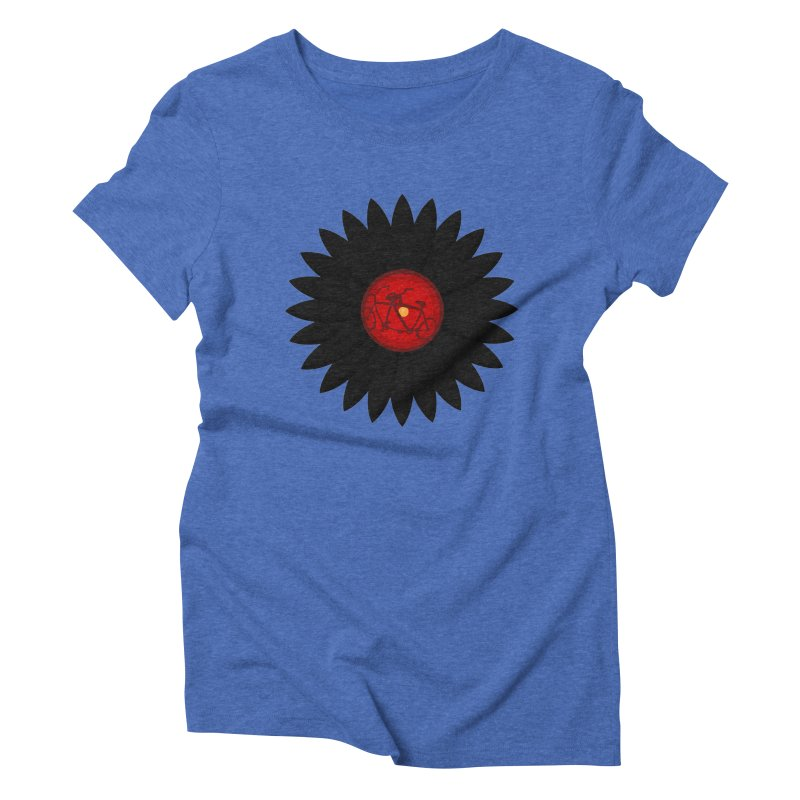 Daisy, Daisy Women's Triblend T-shirt by Alpha Ryan's Artist Shop