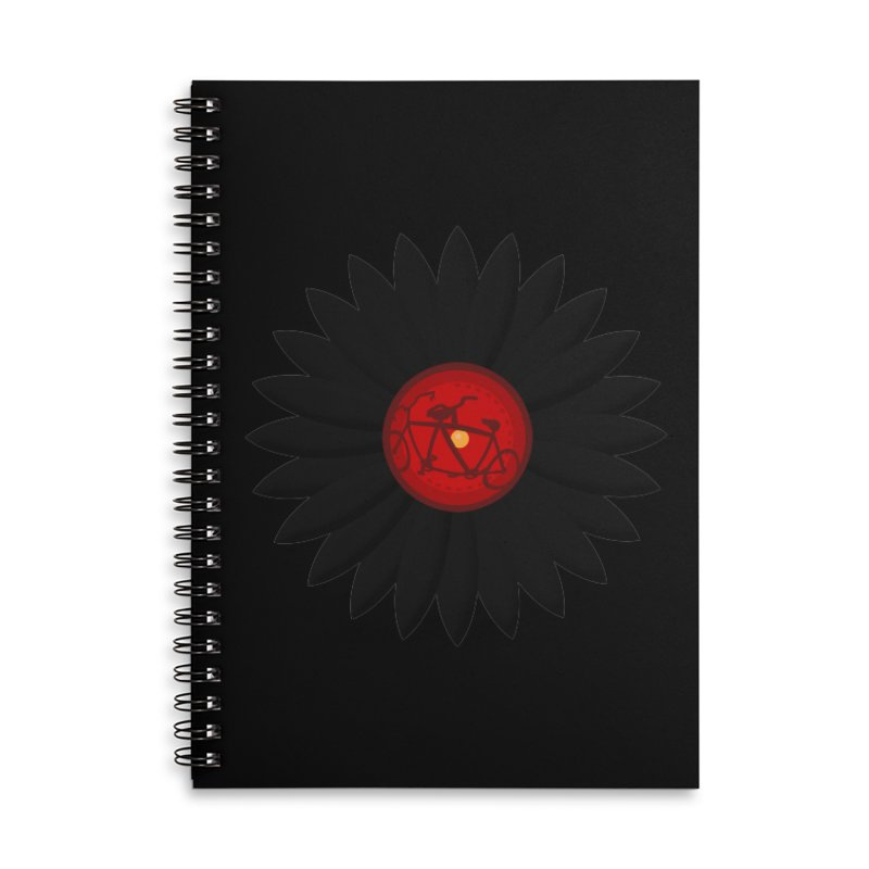 Daisy, Daisy Accessories Lined Spiral Notebook by Alpha Ryan's Artist Shop