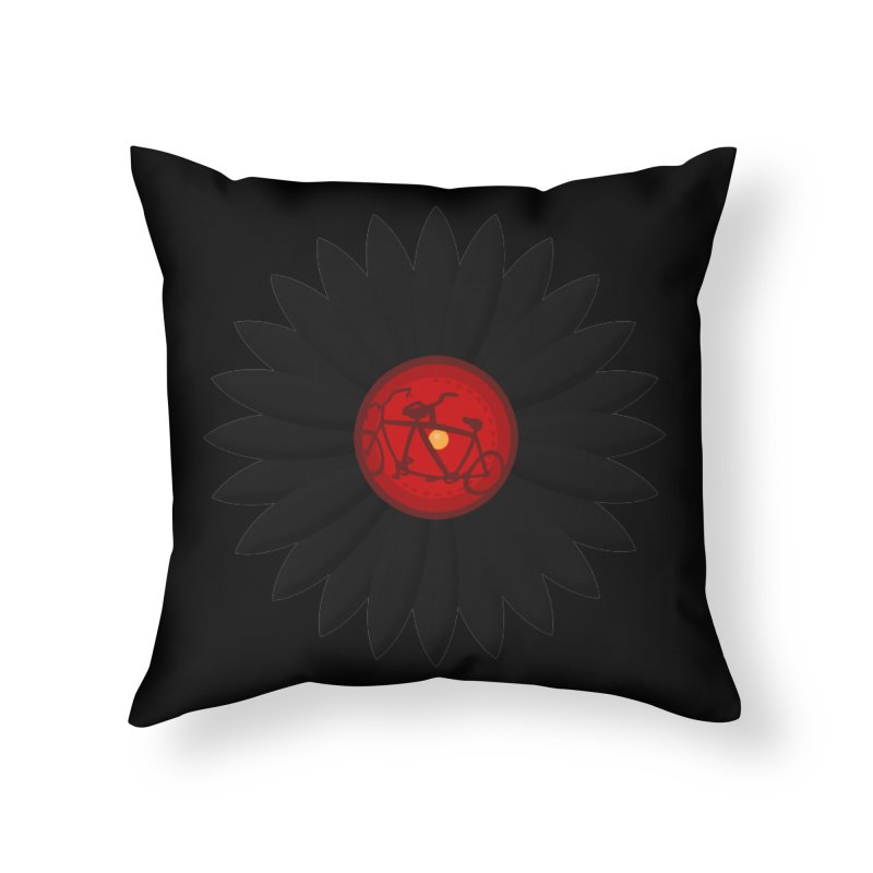 Daisy, Daisy Home Throw Pillow by Alpha Ryan's Artist Shop