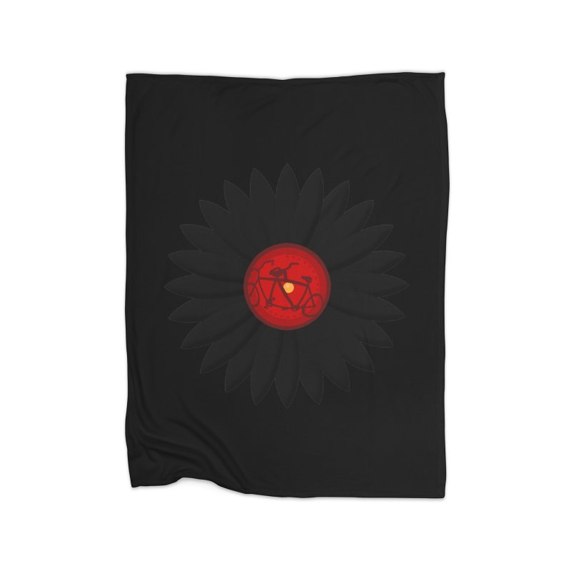 Daisy, Daisy Home Fleece Blanket Blanket by Alpha Ryan's Artist Shop