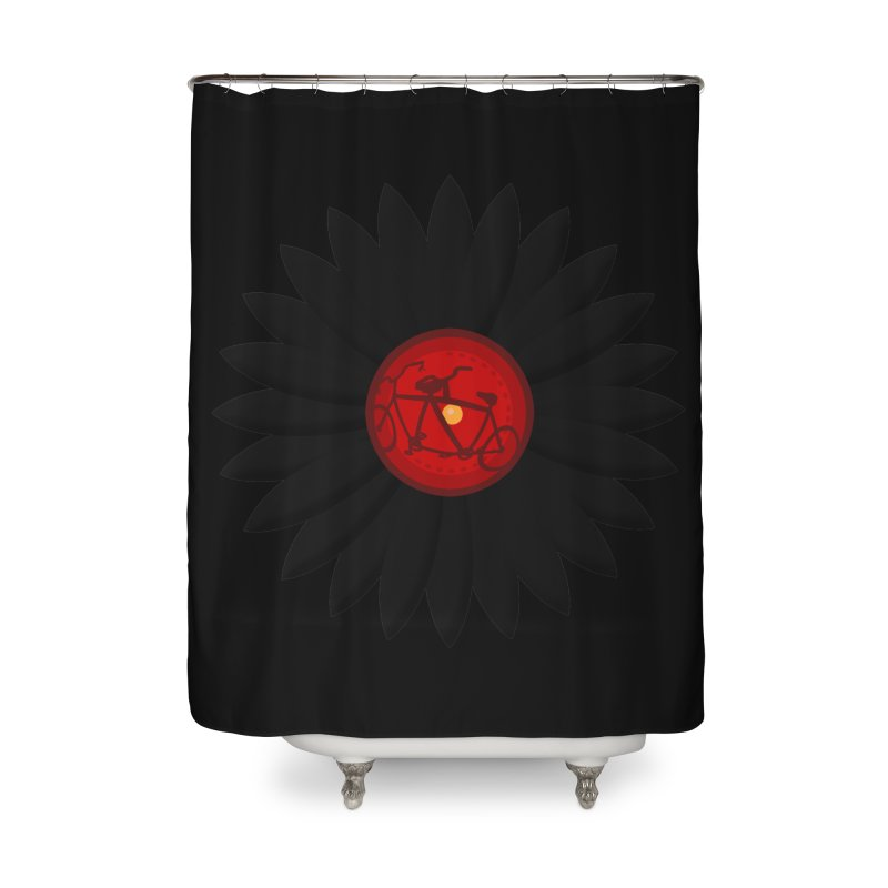 Daisy, Daisy Home Shower Curtain by Alpha Ryan's Artist Shop