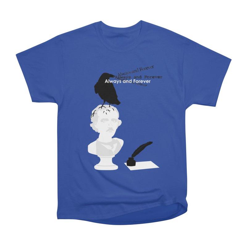 Edgar Allan Poe Men's T-Shirt by Alpha Ryan's Artist Shop