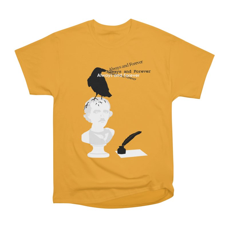 Edgar Allan Poe Women's T-Shirt by Alpha Ryan's Artist Shop