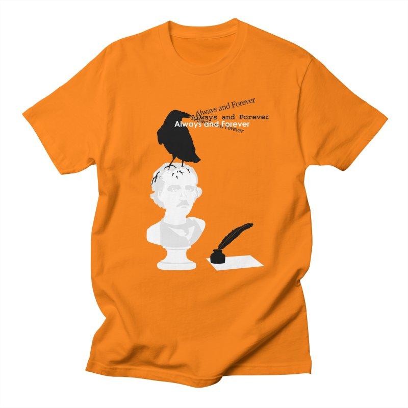 Edgar Allan Poe Women's Regular Unisex T-Shirt by Alpha Ryan's Artist Shop