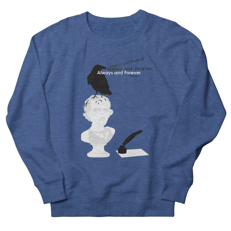 Edgar Allan Poe Women's Sweatshirt by Alpha Ryan's Artist Shop