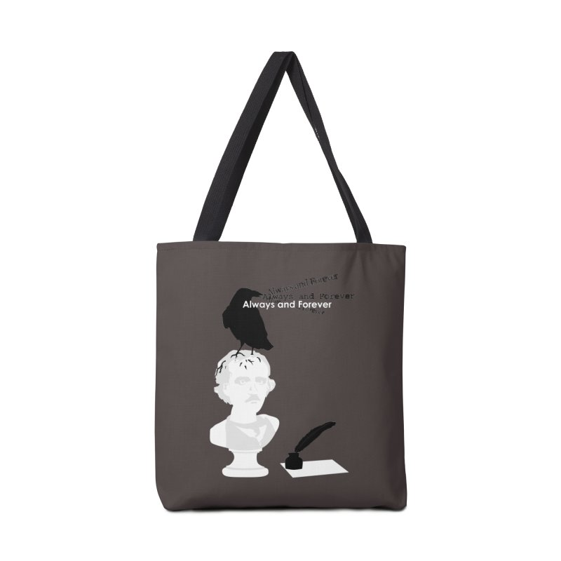 Edgar Allan Poe Accessories Bag by Alpha Ryan's Artist Shop