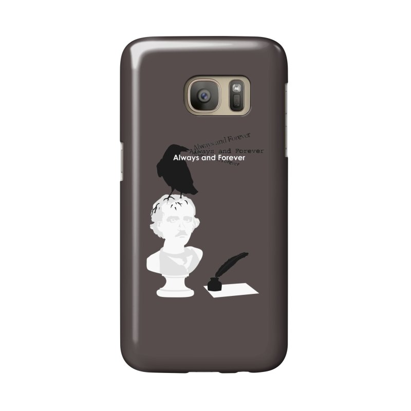 Edgar Allan Poe Accessories Phone Case by Alpha Ryan's Artist Shop