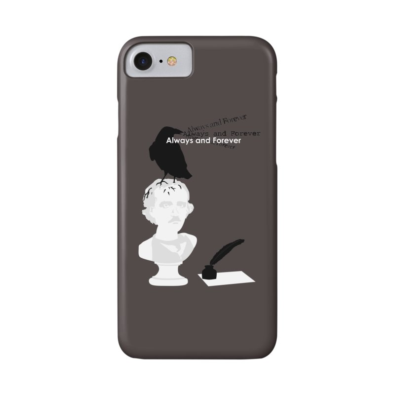 Edgar Allan Poe Accessories Phone Case by Alpha Ryan's Artist Shop