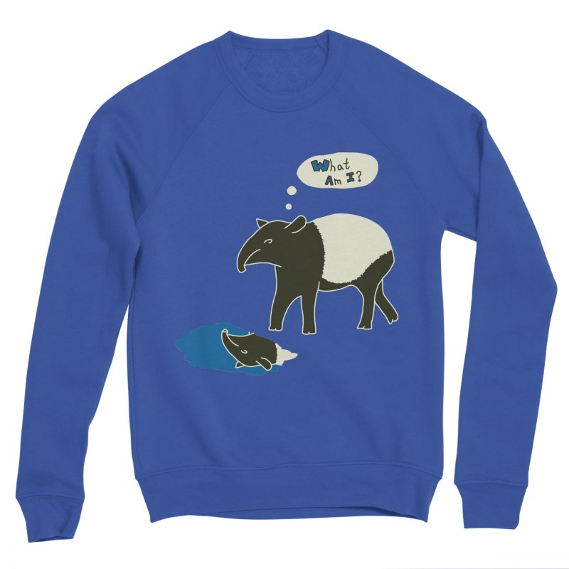 Tapir Mysteries Men's Sweatshirt by Alpha Ryan's Artist Shop