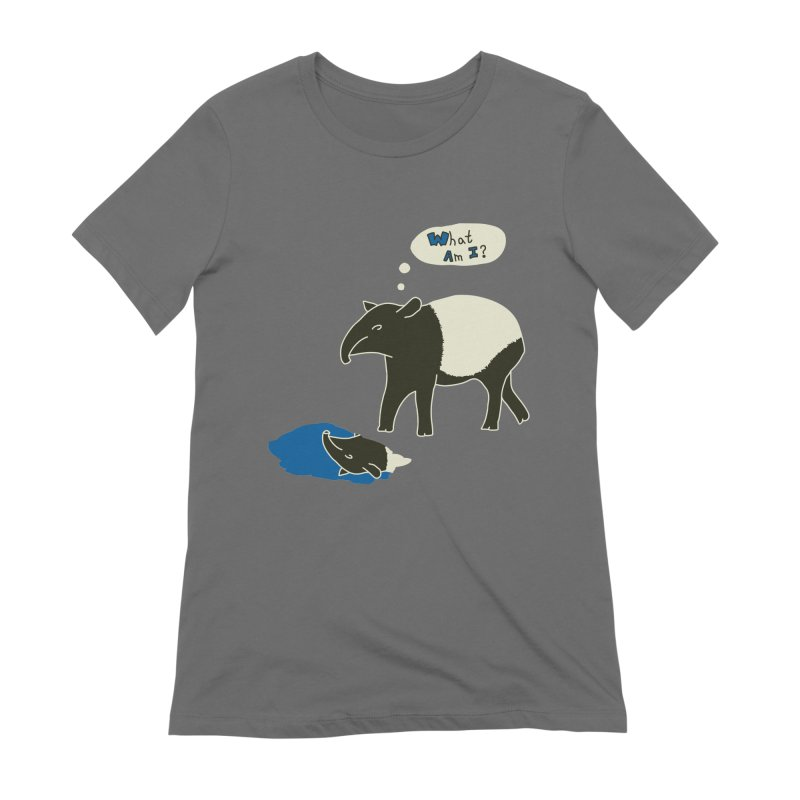 Tapir Mysteries Women's T-Shirt by Alpha Ryan's Artist Shop