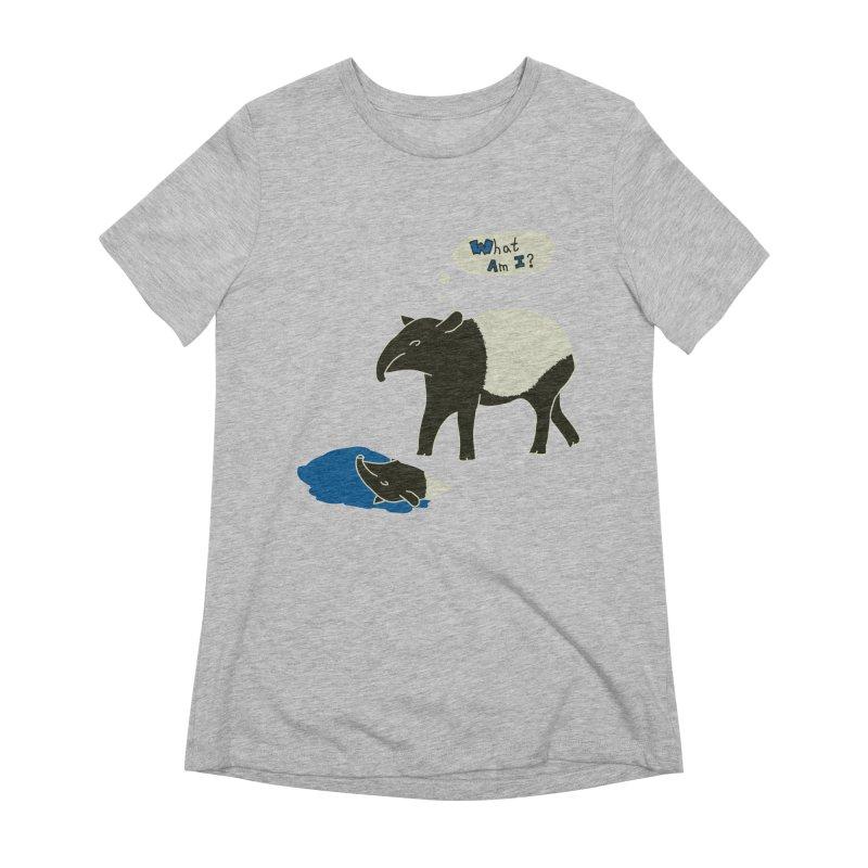 Tapir Mysteries Women's Extra Soft T-Shirt by Alpha Ryan's Artist Shop