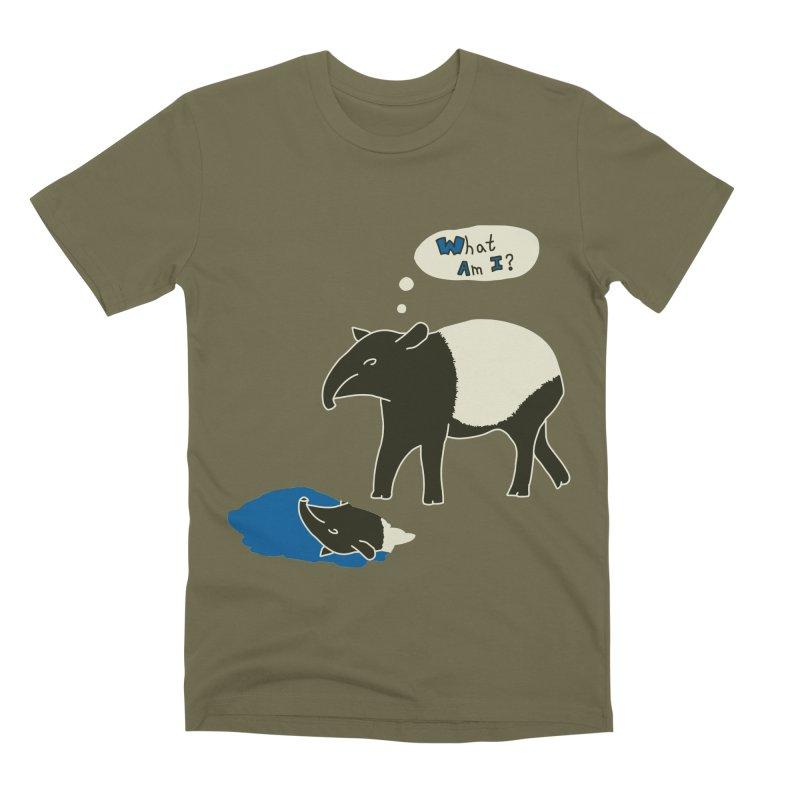 Tapir Mysteries Men's Premium T-Shirt by Alpha Ryan's Artist Shop