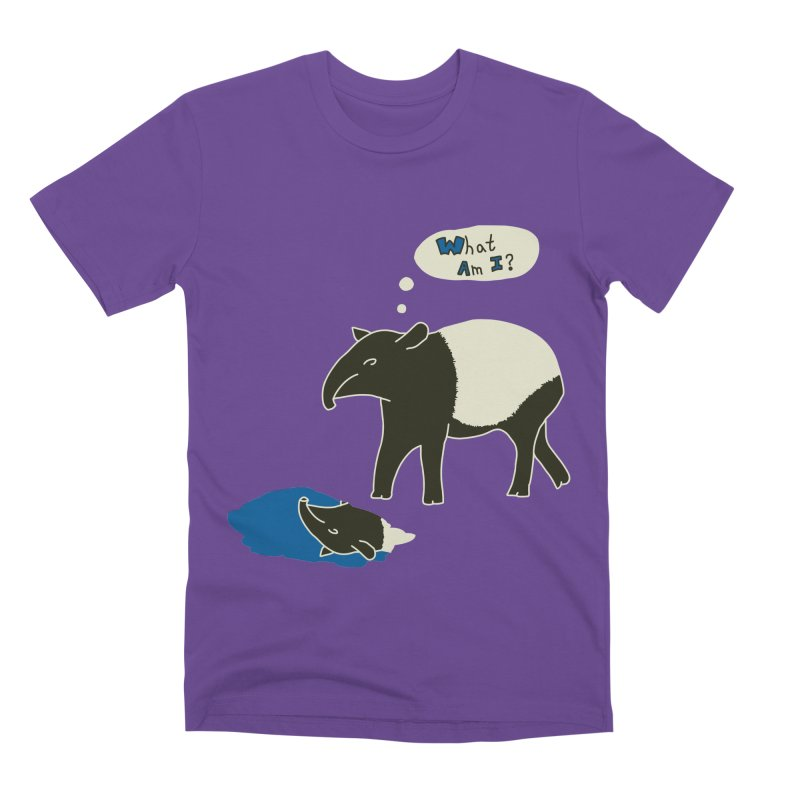 Tapir Mysteries Men's T-Shirt by Alpha Ryan's Artist Shop