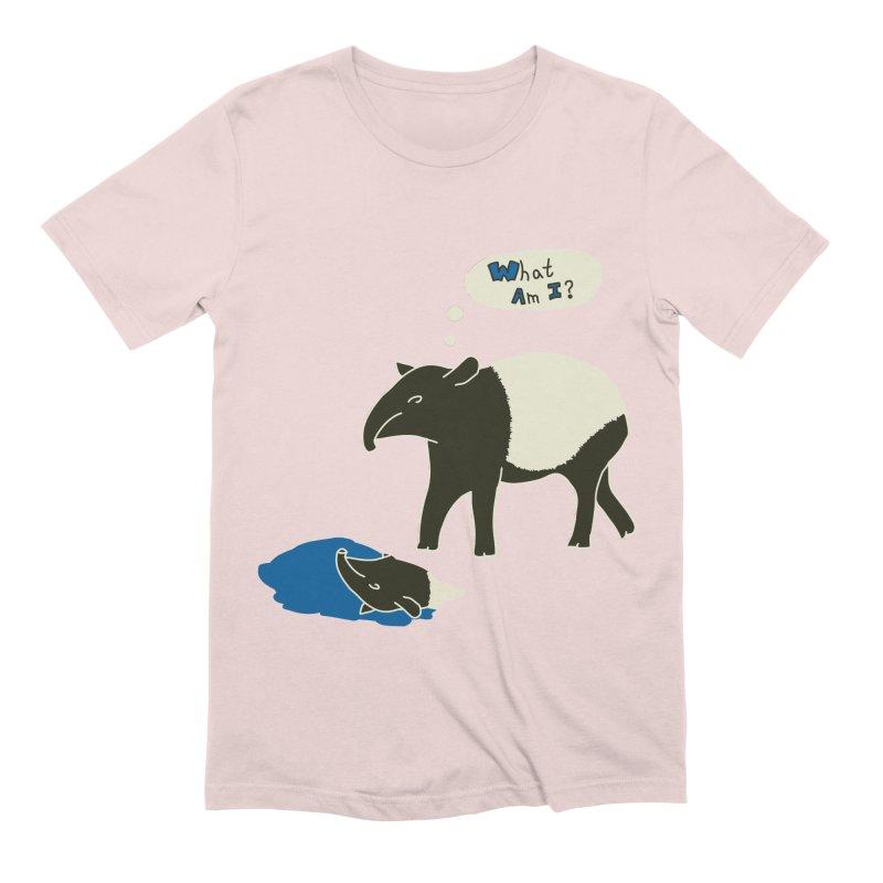 Tapir Mysteries Men's Extra Soft T-Shirt by Alpha Ryan's Artist Shop